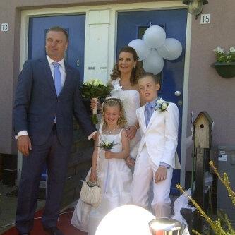 Marco, Melissa en Robin van Galen